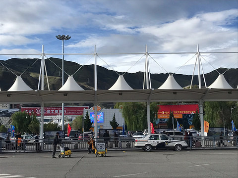 贡嘎国际机场旅游景点攻略图