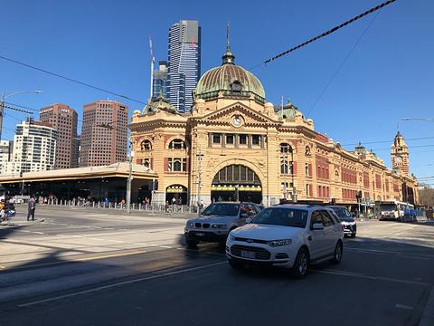弗林德斯街火车站旅游景点图片