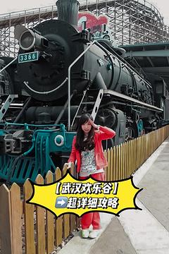 武汉欢乐谷旅游景点攻略图