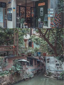 小洲村旅游景点攻略图