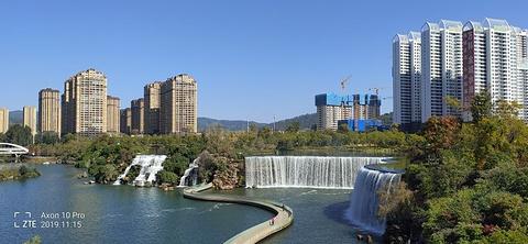 昆明瀑布公园旅游景点攻略图