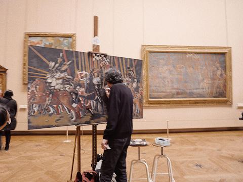 卢浮宫博物馆旅游景点攻略图