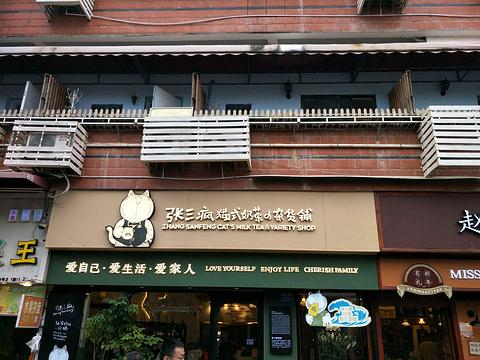 张三疯猫式奶茶&杂货铺(曾厝垵店)旅游景点攻略图