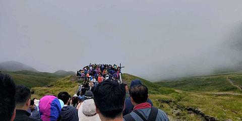 长白山景区旅游景点攻略图