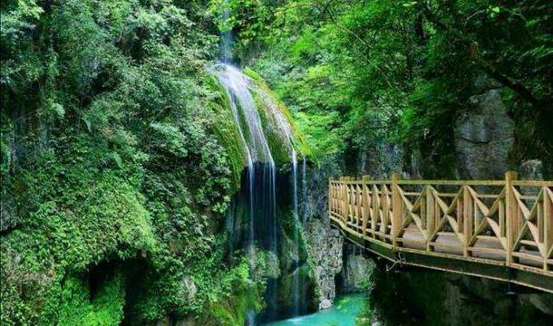 南江大峡谷旅游景点图片