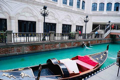 威尼斯小镇旅游景点攻略图