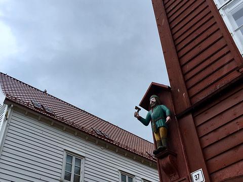 卑尔根布吕根码头旅游景点图片