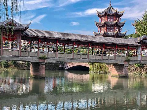 百花潭公园旅游景点图片