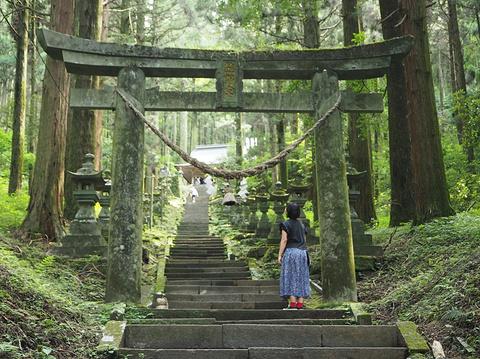 上色见熊野座神社旅游景点攻略图