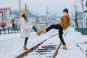 冬日北海道   我们的纯白蜜月之旅,爱在这里起航