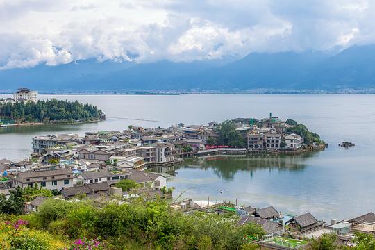 环洱海旅拍旅游景点图片
