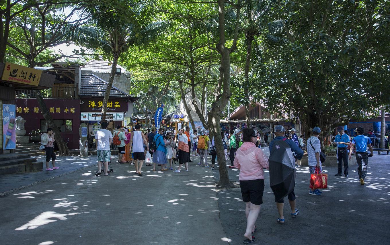 3、岛上美食街图片