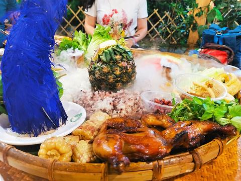 曼象傣味手抓饭烤鸡餐厅旅游景点图片