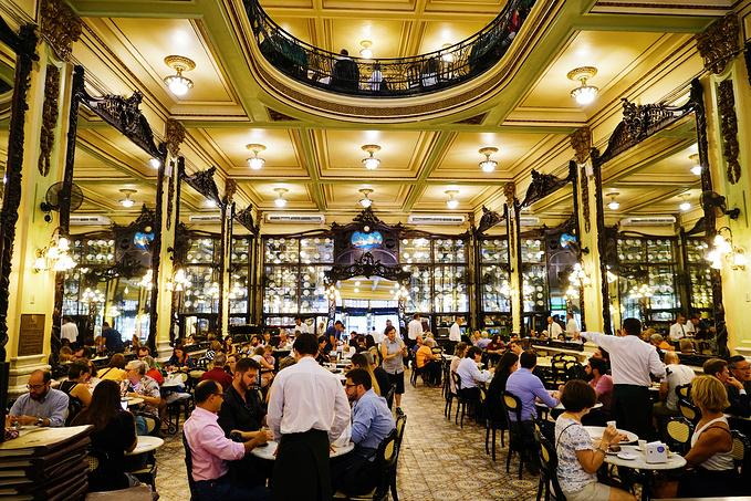 百年甜品老店: Confeitaria Colombo图片