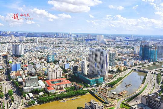 胡志明市金融塔旅游景点图片