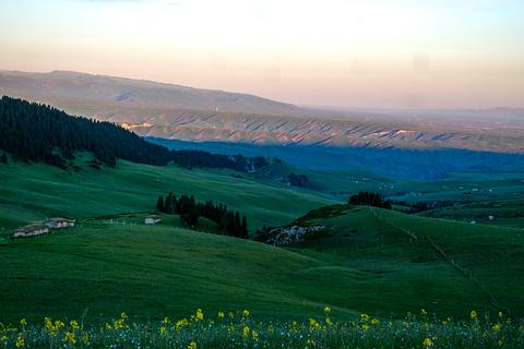 喀拉峻牧业村旅游景点攻略图