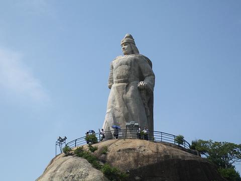 郑成功雕像旅游景点图片