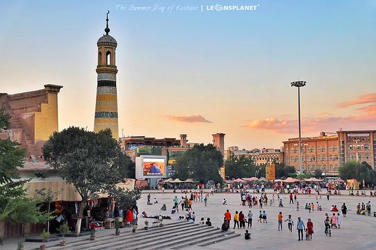 艾提尕尔清真寺旅游景点图片