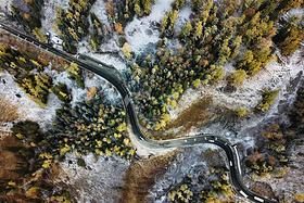 初冬的北疆,深秋的南疆。(附大量上帝视角下的新疆)