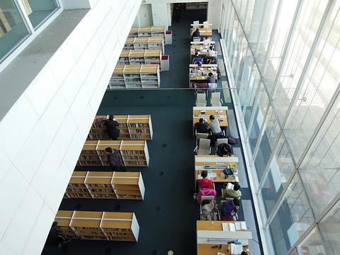 天津图书馆旅游景点图片