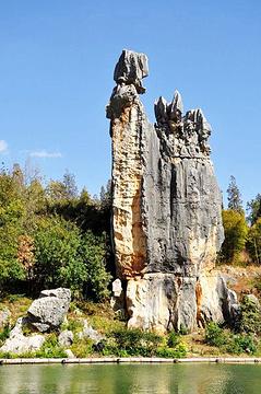 阿诗玛化身石旅游景点攻略图