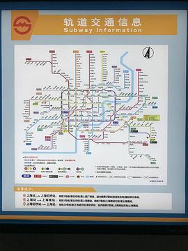 上海站旅游景点攻略图