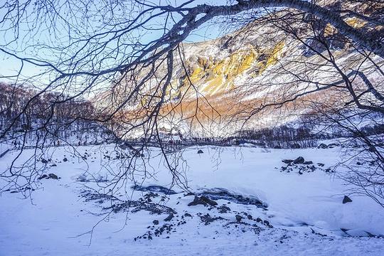 长白瀑布旅游景点图片