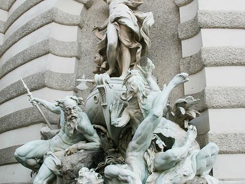 奥地利国家图书馆旅游景点图片