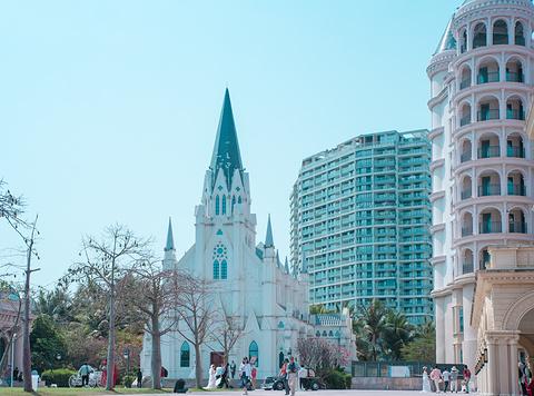 半山半岛吉庆广场旅游景点攻略图