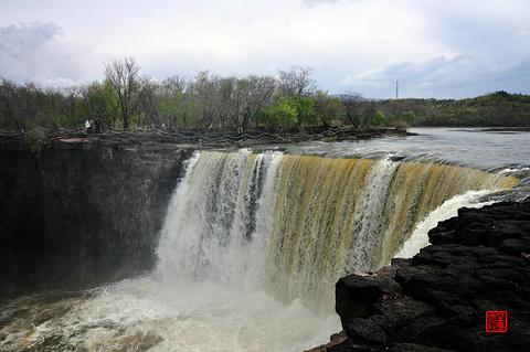 吊水楼瀑布旅游景点攻略图