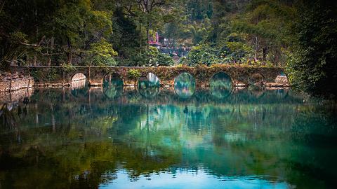 小七孔古桥旅游景点攻略图