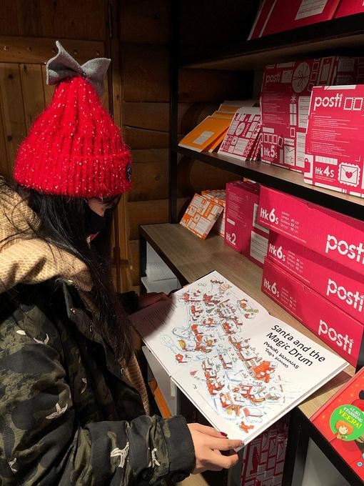 圣诞老人邮局图片