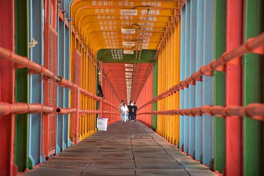 坝陵河大桥旅游景点图片