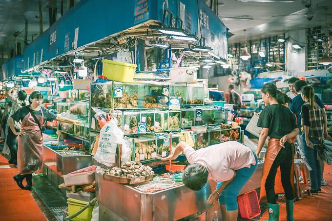 第一农贸市场,必打卡的繁华市场图片