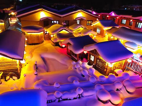 中国雪乡旅游景点图片