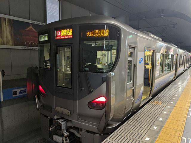"""""""京都到大阪/关西机场的回程不一定还要坐Haruka号,可以乘坐更为便宜的京阪电车_关西机场""""的评论图片"""