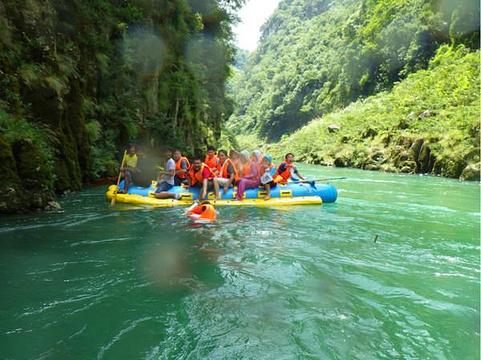 猛洞河旅游景点图片