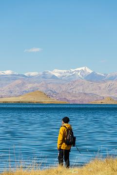 班公湖的图片