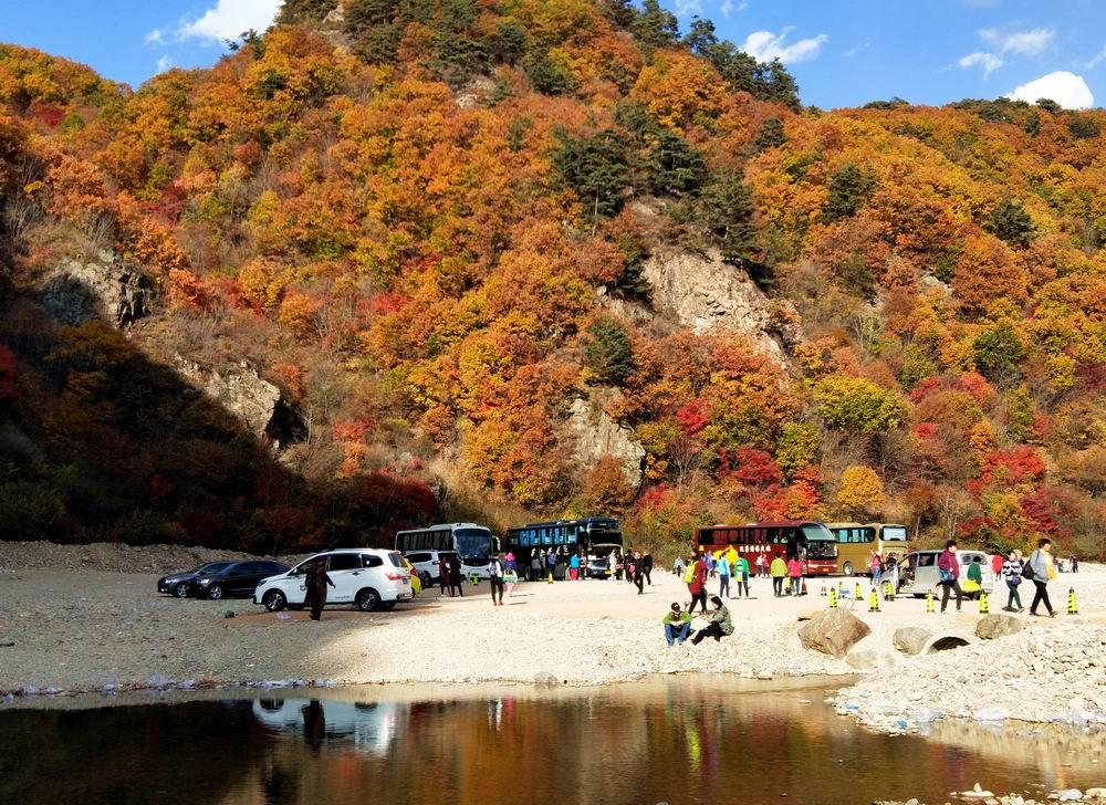 错峰秋游(七)本溪湖里风景区