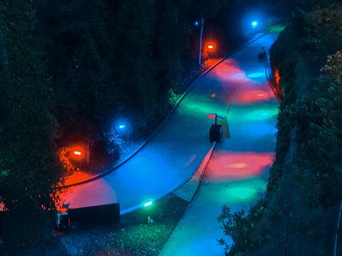圣淘沙天际线斜坡滑车旅游景点图片