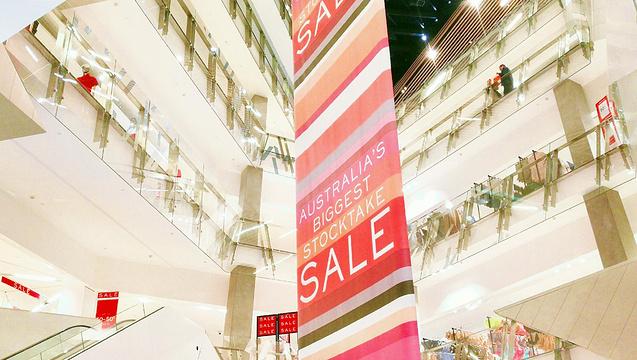 墨尔本中央购物中心旅游景点图片