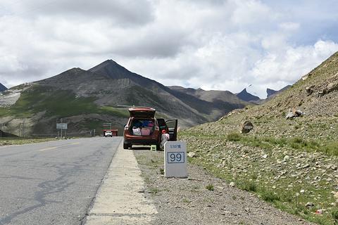 卡若拉冰川旅游景点攻略图
