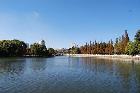 翠湖旅游景点攻略图