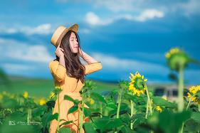 在锡林郭勒,享受这个被风吹过的夏天