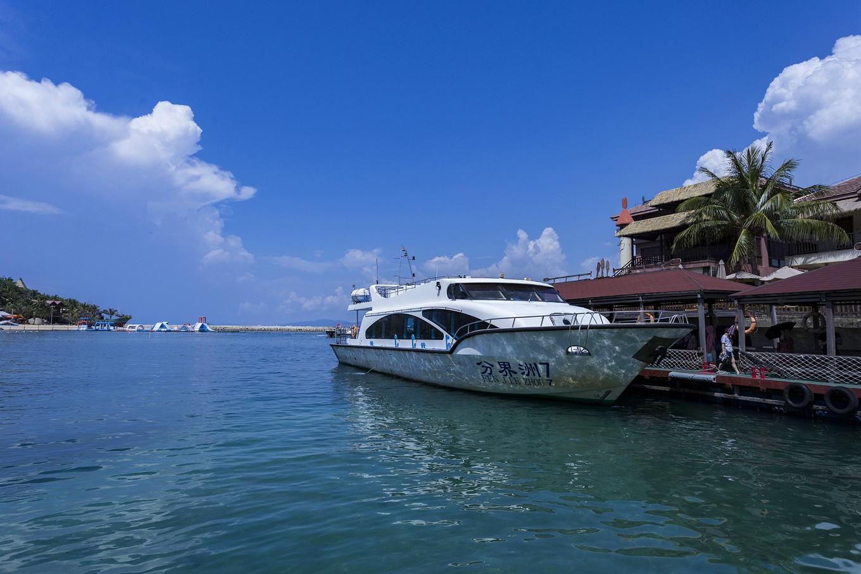 2、分界洲码头,对小岛的第一印象从这里开始图片
