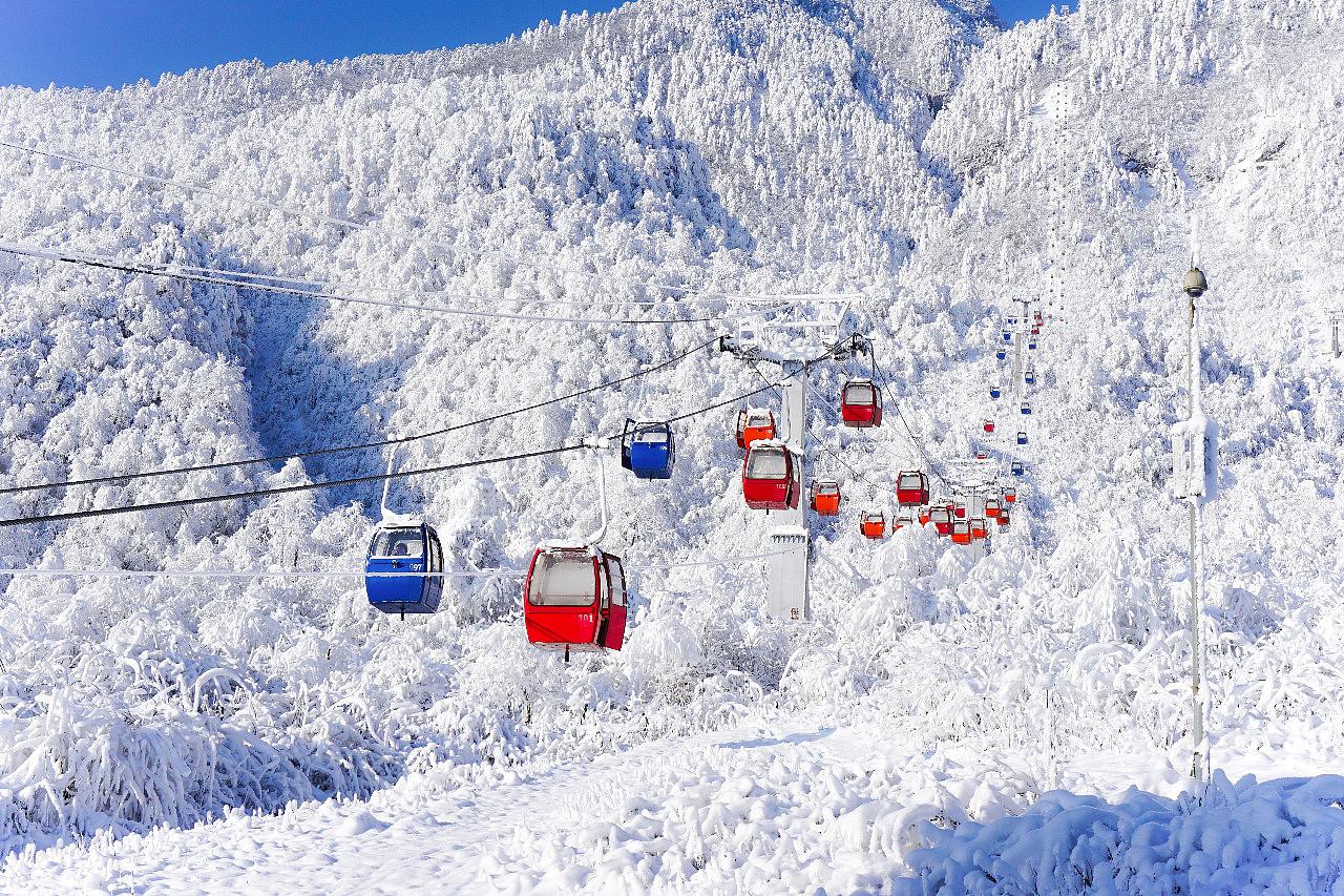 川内知名成熟玩雪地——西岭雪山,了解一下?