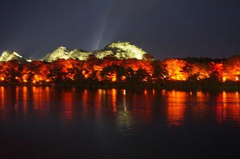 两江四湖旅游景点攻略图