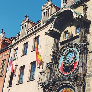 布拉格老城广场的图片