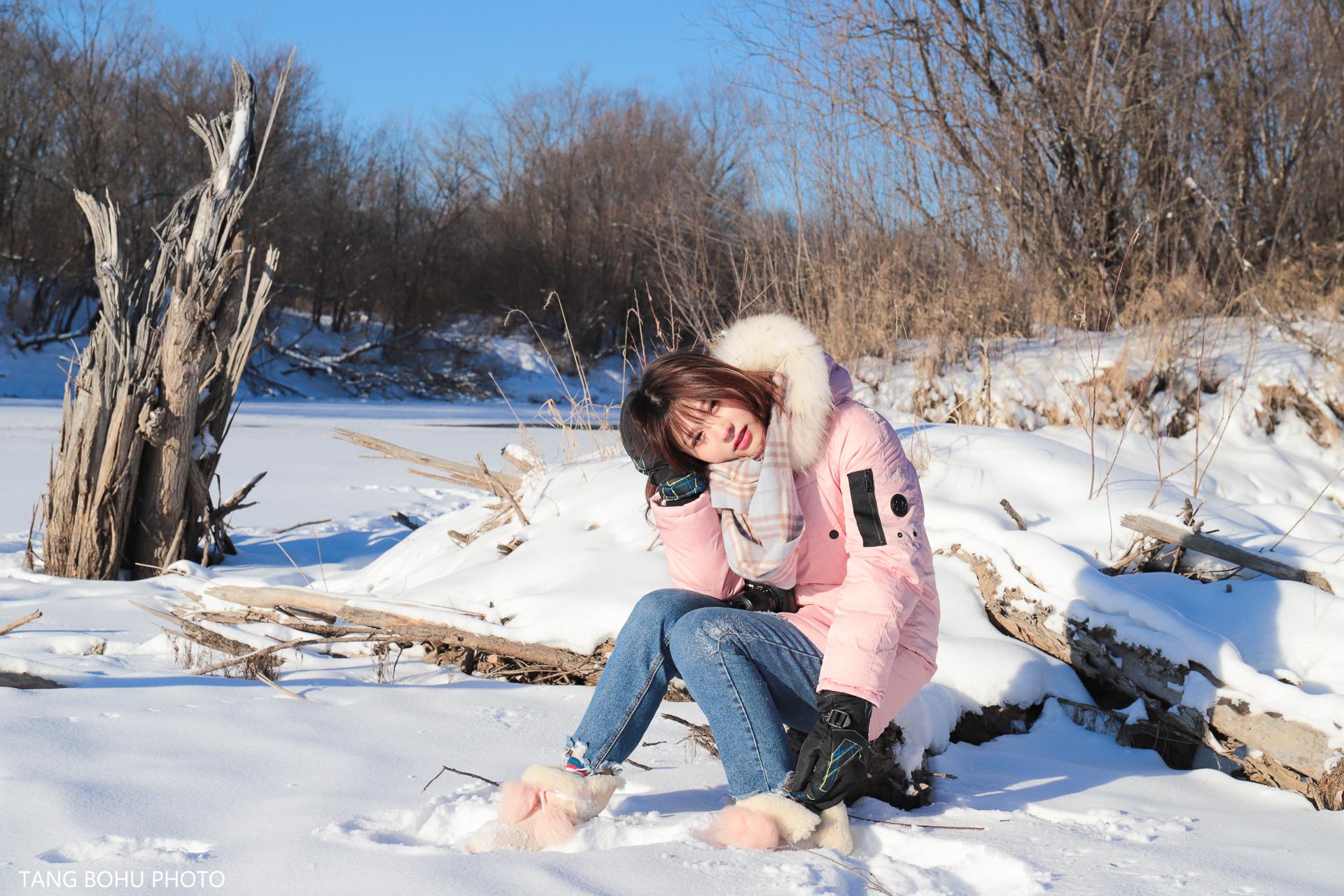 一路向北,梦幻塔河雪乡,与你邂逅冰雪奇缘的童话世界。