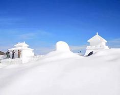 宁夏的冰雪圣地,看雪淞滑雪溜冰都能实现